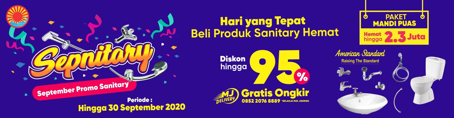PROMO TERMURAH MATAHARI JAYA SEPNITARY 2020